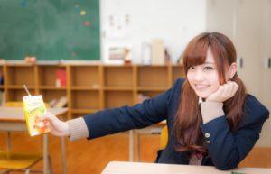 学生の二重まぶた癖付け