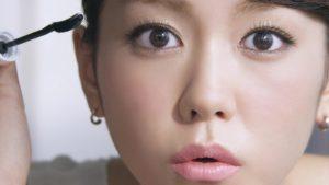 桐谷美玲の可愛い末広型二重まぶた